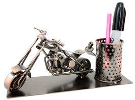 Atlantic Collectibles Chopper Motorbike Hand Made Metal Stationery Organ... - €26,87 EUR