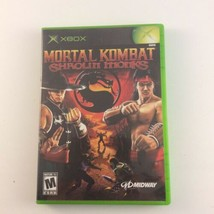 Mortal Kombat: Shaolin Monks (Microsoft Xbox, 2005) Tested Complete - $21.77