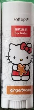 Softlips Hello Kitty Limited Edition Lip Balm Gingerbread
