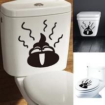 DIY Toilet Sticker Removable Closestool Sticker Bathroom Decoration - $12.58