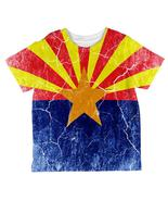 Arizona Vintage Distressed State Flag All Over Toddler T Shirt - $23.95