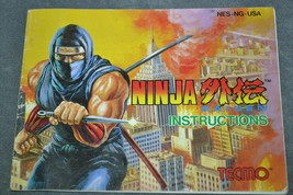 Nintendo NES: Ninja Gaiden [Instruction Book Manual ONLY] - $8.00