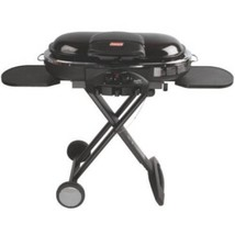 Portable Propane Grill 2 Burner Gas Barbecue Meat Outdoor Camping Black ... - £140.20 GBP