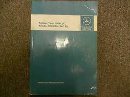 1986 MERCEDES BENZ Model 124.030 300 E Service Shop Manual INTRO OEM BOO... - $97.66