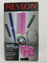 Revlon 24 Piece Volume & Second Day Styling Kit - $13.86