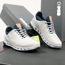 Golf shoes men golf shoes leather sports shoes - $99.99