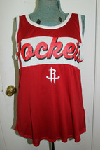 NBA BASKETBALL NEW ERA WOMENS HOUSTON ROCKETS TANK TOP SIZE XL - $19.99