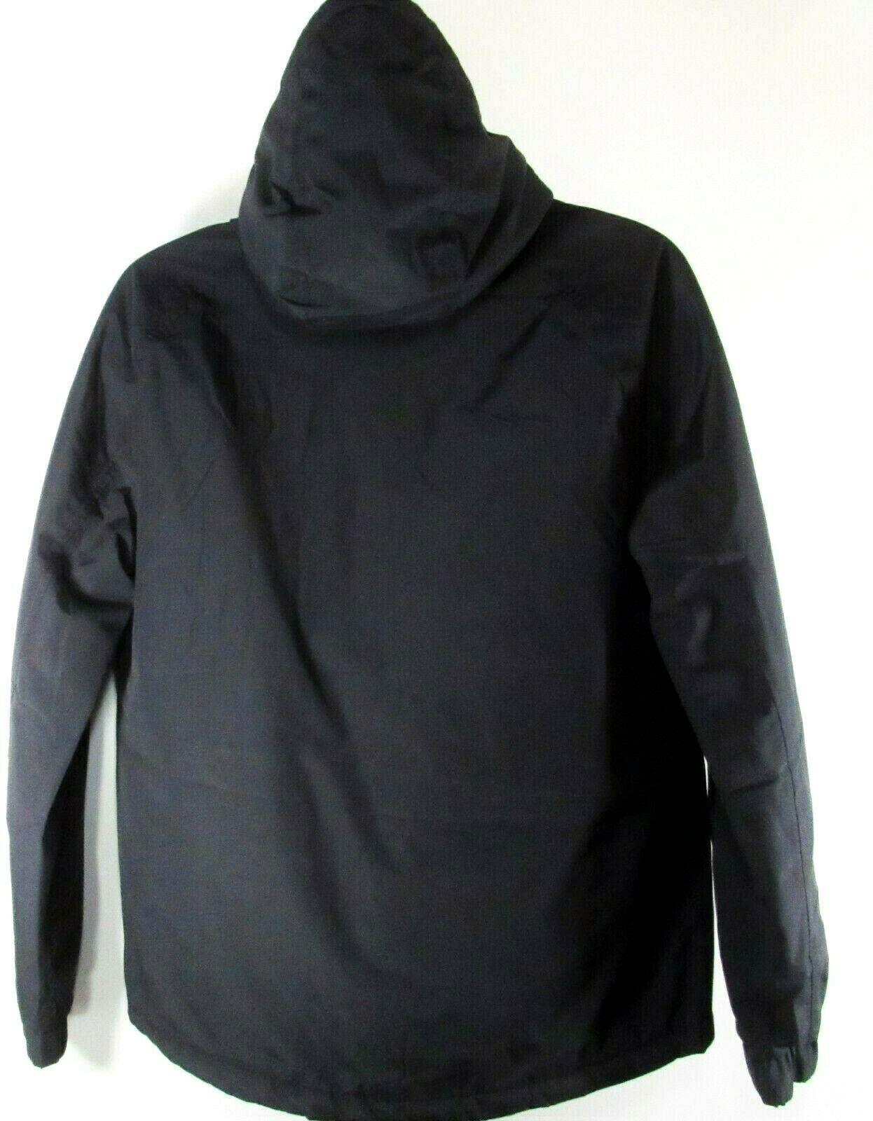 TIMBERLAND A1ML3-001 MEN'S BLACK WATERPROOF HOODED JACKET $188.