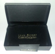 Black Joan Rivers Jewelry Box Velvet Pouch & Glamour Cards NO JEWELRY 2... - €4,76 EUR