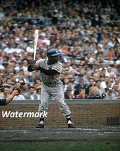 MLB Milwaukee Braves Hank Aaron Wrigley Filed Color 8 X 10 Photo Picture - $5.99