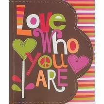 Love Who You Are Petite Soft Bound Journal - 140 Ruled Pages. Daily Note... - $11.71