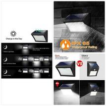 Yacikos Solarleuchten Außen 60 LED Solarlampe mit Bewegungsmelder Solar ... - $37.17