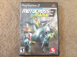 PS2 Motocross Mania 3 Complete Playstation 2 - $6.79