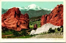 Vtg Postcard 1900 Detroit Photographic Co Pike's Peak CO Garden of Gods UDB UNP - $11.95