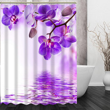 Modern Style Pop boutique orchids flowers Shower Curtain Pattern Customized Show - $45.61