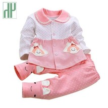Newborn Baby girl clothes spring autumn baby clothes set cotton Kids inf... - $37.60+