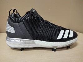 Details about adidas Boost Icon 2.0 Metal Baseball Cleats Size 13 Black Gold Cork B42905