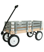 GRAY BERLIN FLYER CLASSIC Wooden No Tip WAGON -  MADE in the USA - $225.37