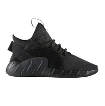 Adidas Tubular Rise Core Black Red BY3557 Mens Casual Shoes Size 9.5 image 2