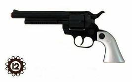 Gonher Cowboy Colt Peacemaker Style 12 Shot Cap Gun - Blued & Faux Pearl... - $27.71