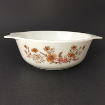 JAJ Pyrex Country Autumn Casserole Dish Made In England Woodland Old Vin... - $16.78
