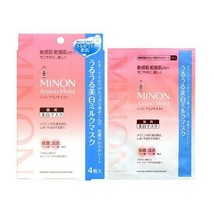 Daiichi-Sankyo Minon Amino Whitening Face Mask 4sheets image 2