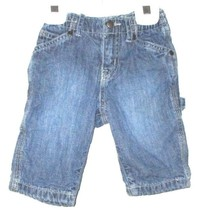BOYS CARPENTER JEANS SIZE 3-6 MOS. - $5.99