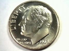 1966 ROOSEVELT DIME SPECIAL MINT SET SMS SUPERB UNCIRCULATED+ SUPERB UNC... - $44.00