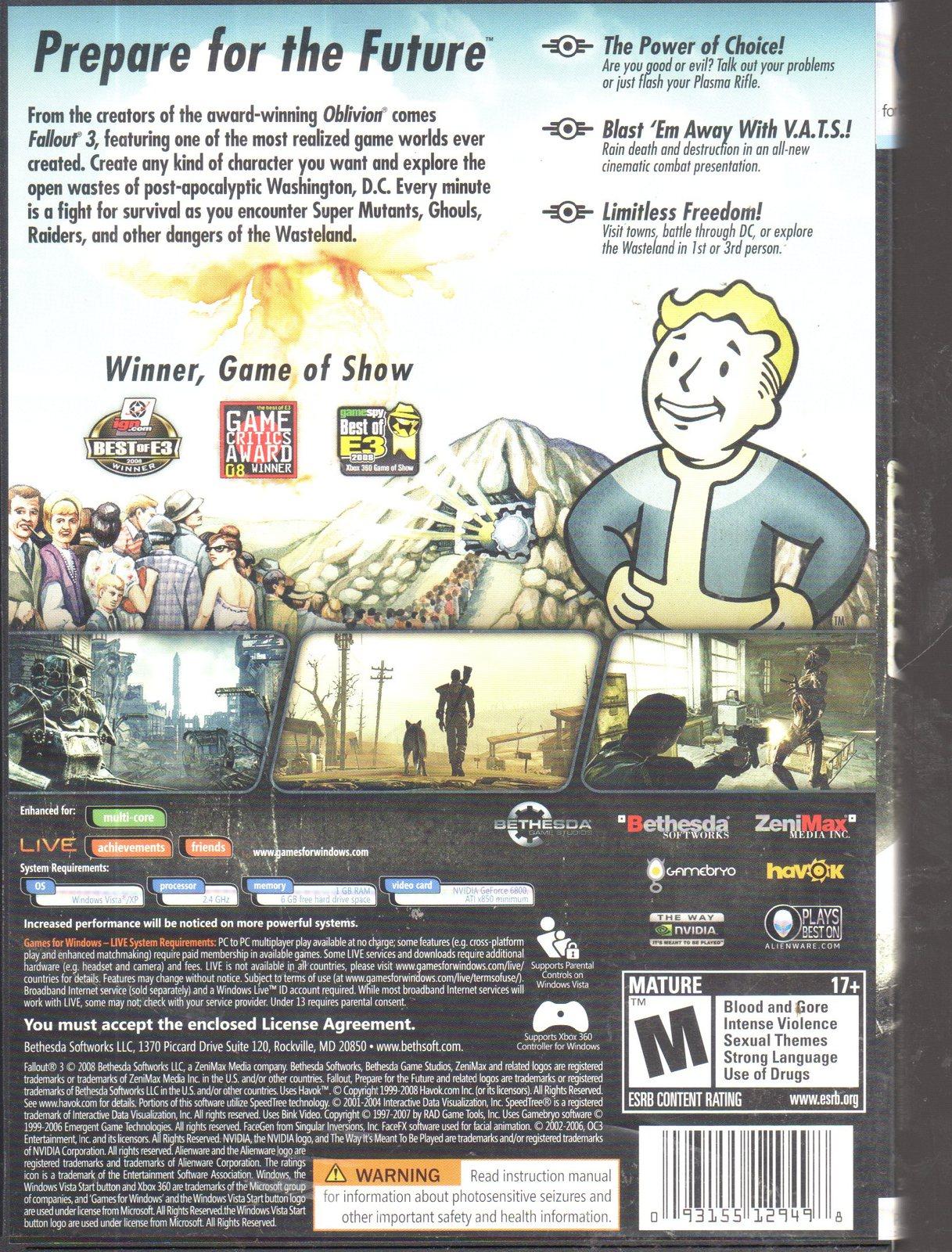 Fallout 3 - PC (Windows)