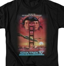 Star Trek IV The Voyage Home Star Date Retro 80s Sci-Fi Action CBS522 image 2