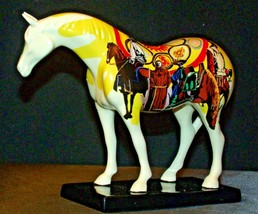 Ceramic Trail Of Painted Ponies #1468 Unity Westland Giftware AA-191996Collec image 2