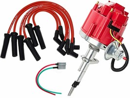 41-62 Chevy HEI Distributor 194 216 68-87 Toyota FJ40 FJ60 8mm Spark Plug Kit