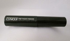 Clinique high impact optimal mascara 01 BLACK .14 oz 3.5 ml New Made in Canada - $5.79