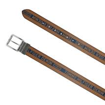 Tommy Hilfiger Men's Premium Logo 38MM Reversible Belt Tan/Black 11TL02XZ47 image 3