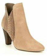 Women Vince Camuto Rotiena Suede Laser Cut Booties, Multi Sizes Wild Mus... - $154.81 CAD