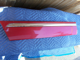 1998 LINCOLN CONTINENTAL RED  RIGHT REAR DOOR MOLDING TRIM OEM USED ORIG... - $125.38