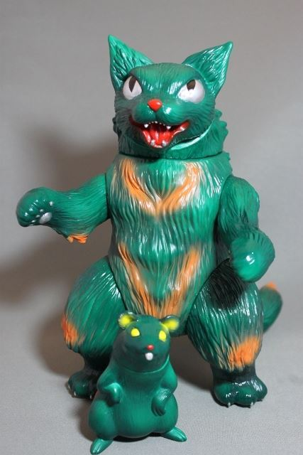 MaxToy Green King Negora and Mouse
