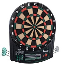 "Franklin Sports 3648 FS6000 15.5"" Electronic Dart Board NEW - $71.95"
