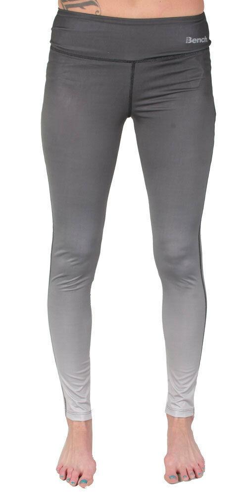 Bench Femmes Noir Pour Délavé Gris Baddah Leggings Fitness Yoga Pantalon Nwt