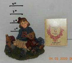Yesterdays Child Boyds Dollstone Collection Tami Doug half time #3546V  ... - $49.50