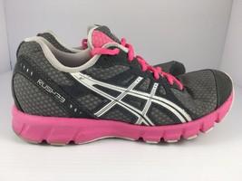 Asics Rush 33 Women's Pink White & Gray Running Shoes Size 6 ( T1H7N ) - $24.99