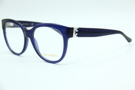 New Tory Burch Ty 2072 1565 Blue Eyeglasses Authentic Frame Rx TY2072 53-17 - $100.32