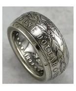 Rare Morgan Dollar 90% Silver Coin Gothic 1899 Biker Eagle Vintage Male ... - $97.00