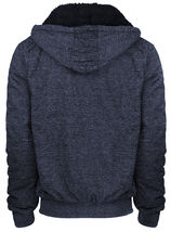 Men's Premium Athletic Soft Sherpa Lined Fleece Zip Up Hoodie Sweater Jacket image 12