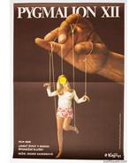 PYGMALION XII Movie Poster 1971 Surreal Cinema Art Palecek Graphic Designer - $212.00