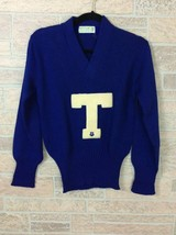 Vtg Letterman Sweater Imperial Official Award Wool Worsted Ladies 38 Sma... - $29.69