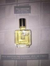 New Paul Sebastian PS Fine Cologne For Men 0.25 FL OZ 7.5ml MINI Travel ... - $17.81