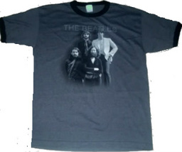 BEATLES IN FIELD BLUE T- SHIRT ~ 100% cotton An Apple Corp Product MED O... - $16.99