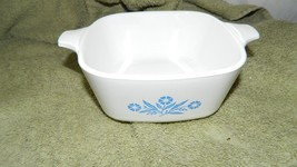 Corning Ware P-43-B Blue Cornflower Casserole Dish + Lid 22 Ounce Free Us Ship - $18.69