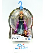 """Disney Hasbro Frozen II 2 Queen Anna, Small Doll 4"""" with Removable Cape ... - $14.80"""